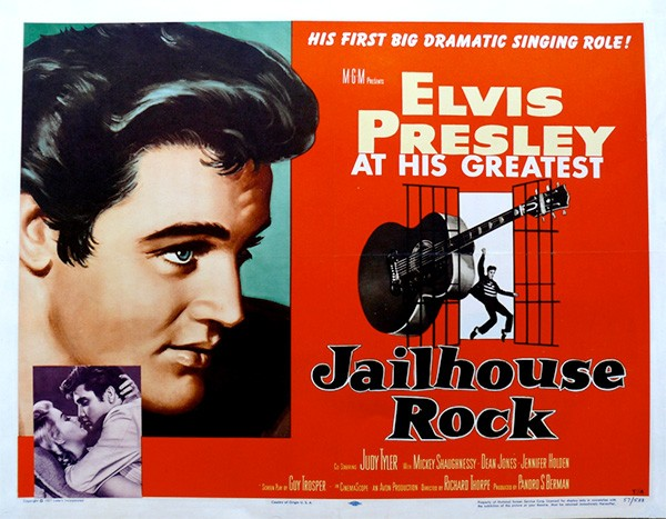 "Believe it or not, McGriff was a big fan of Elvis -- the actor, not the singer -- as a kid: ""I would be the only one in the house, up late watching 'Jailhouse Rock.'"""