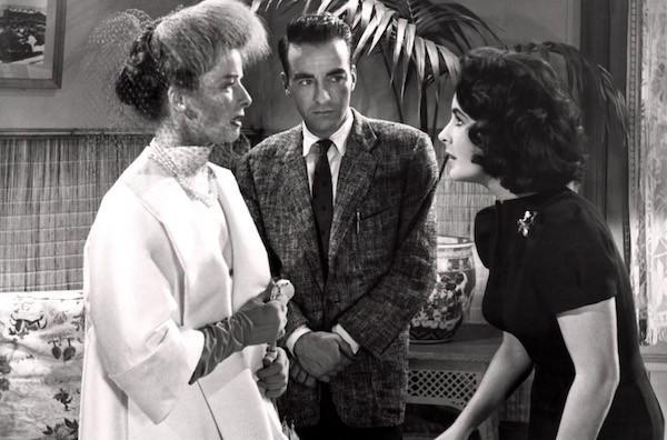 Katharine Hepburn, Montgomery Clift and Elizabeth Taylor in Suddenly, Last Summer (Photo: Twilight Time)