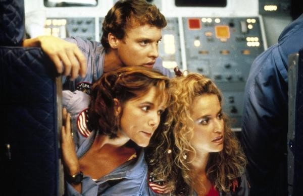 Tate Donovan, Lea Thompson and Kelly Preston in SpaceCamp (Photo: Kino)