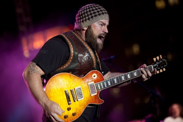 Zac Brown of the ... you guessed it ... Zac Brown Band. (Photo by David Lamarand)