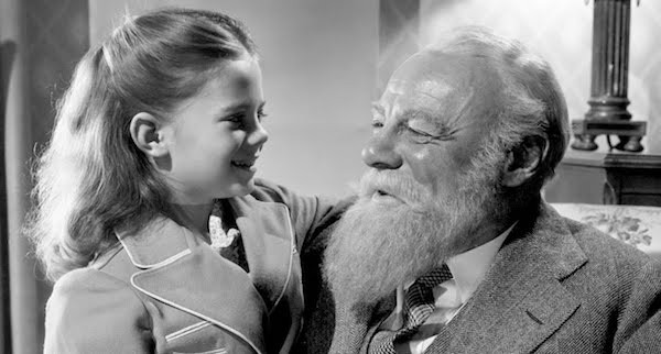 Natalie Wood and Edmund Gwenn in Miracle on 34th Street (Photo: Fox)