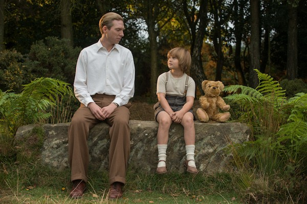 Domhnall Gleeson and Will Tilston in Goodbye Christopher Robin (Photo: Fox Searchlight)