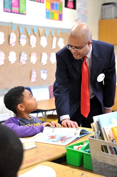Munro Richardson, executive director at Read Charlotte, wants to make sure kids have a stronger foundation to learn about reading by the time they enter kindergarten. (Photo courtesy of Read Charlotte)