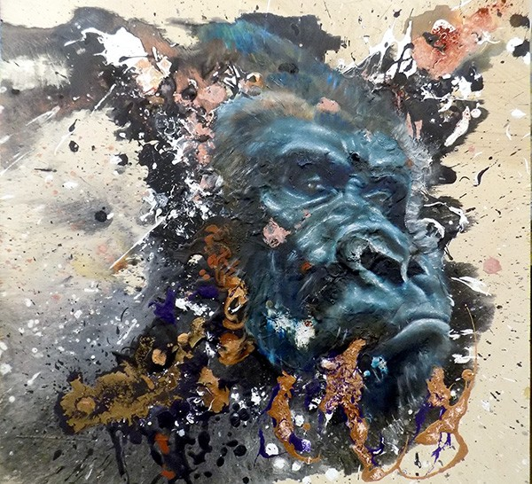 """Gorilla in the Mist,"" by Sloane Siobhan"