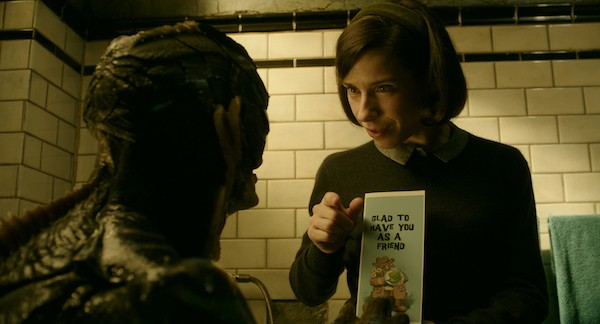 Doug Jones and Sally Hawkins in The Shape of Water (Photo: Fox Searchlight)