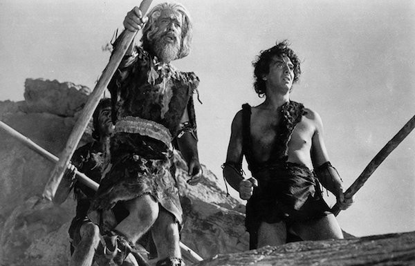 Lon Chaney Jr. and Victor Mature in One Million B.C. (Photo: VCI)
