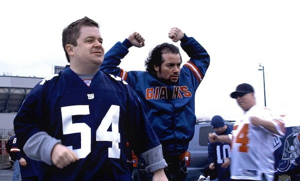 Patton Oswalt and Kevin Corrigan in Big Fan (Photo: First Independent)