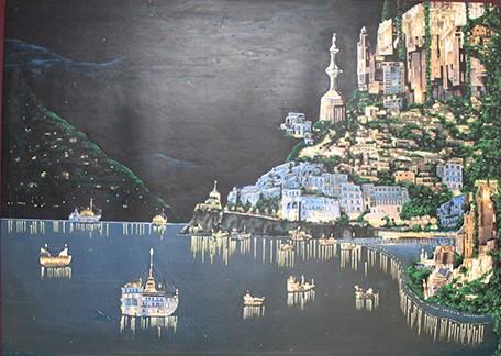 """Amalfi Coast: Dream Harbour"" by Jay Robert Watson."