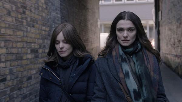 Rachel McAdams and Rachel Weisz in Disobedience (Photo: Bleecker Street)