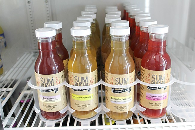 SUM Bucha can be found at various locations around Charlotte.