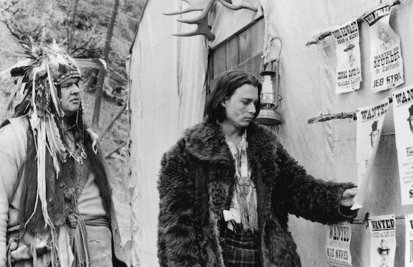 Gary Farmer and Johnny Depp in Dead Man (Photo: Criterion)