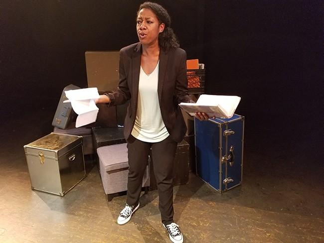 Tania Kelly (All photos courtesy of Three Bone Theatre)
