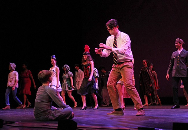 Pearce performs in 'Big Fish.' (Photo courtesy of Blumenthal)