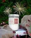 Light Your Whick's Under the Mistletoe candle