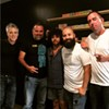 'Local Vibes' crew (l to r): CL editor Mark Kemp with Tony Arreaza, Davey Blackburn, Oscar Huerta of UltimaNota, and CL's Ryan Pitkin