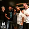 'Local Vibes' Aug. 17 crew: CL editor Mark Kemp (from left) with Tony Arreaza, Davey Blackburn, Oscar Huerta of UltimaNota, and CL's Ryan Pitkin