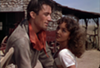 Gregory Peck and Jennifer Jones in <i>Duel in the Sun</i> (Photo Kino)
