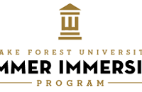 Wake Forest Summer Immersion Program Ranks 3rd in Nation for Pre-College Summer Programs