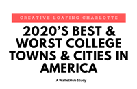 Overall Best College Cities In America 2020: Charlotte Makes The List