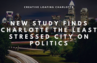 New study ranks Charlotte super low on the stress scale