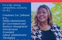 Constance Lov Johnson for the US Senate for NC