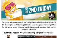 Join us for our upcoming 2nd Friday for a TRIPLE BEER RELEASE!