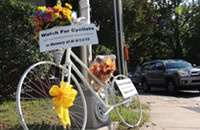 Death of Charlotte biker brings cycling community together