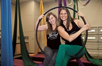 Amy Tynan, owner; Katie Rothweiler, community relations of Aerial CLT