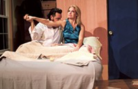 Theater reviews: <i>Stage Kiss</i> and <i>Charlotte Squawks: 12 Angry Hens</i>