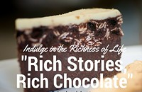 Evening of Rich Stories and Chocolate