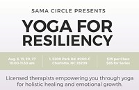 Yoga for Resiliency