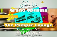 Grand Opening NC 1st Mobile Massage Bus