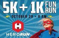 Hero Run 5k+ 1 k fun run