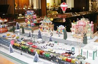 """Toys, Games and TRAINS"" Exhibit"