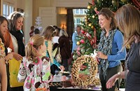 Holiday Tea & Shopping At The Duke Mansion