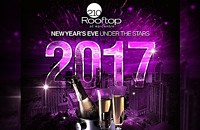 New Years Eve 2017 at Rooftop 210