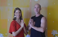 Restorative Deep Stretch with Meditative Handpan & Native Flute with Wendy and Greg