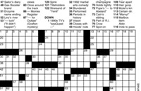 CORRECTION: New crossword puzzle for Jan. 5 issue
