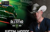 Justin Moore Monster Energy NASCAR All-Star Concert