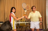 <i>Battle of the Sexes</i> serves with distinction