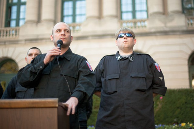 National Socialist Movement rally, 11/10/12