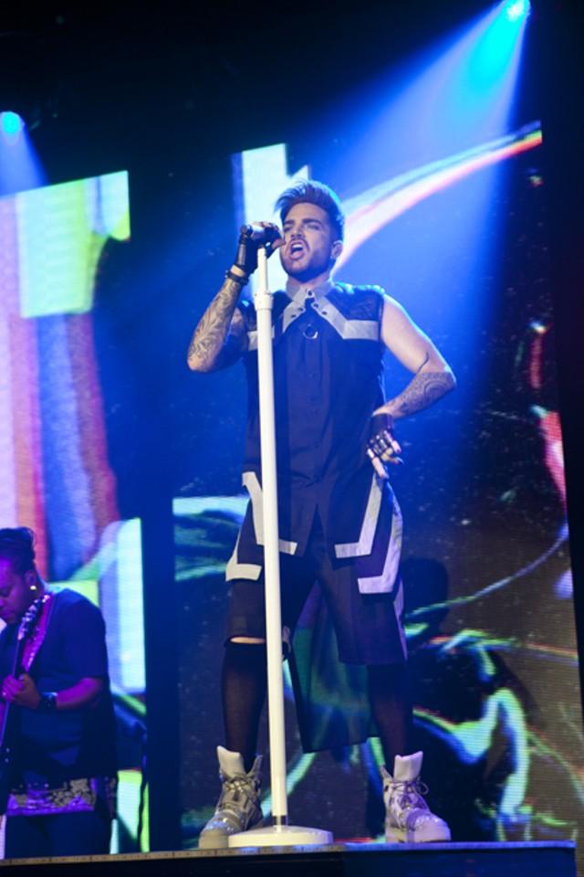 Adam Lambert @ The Fillmore, 3/6/2016