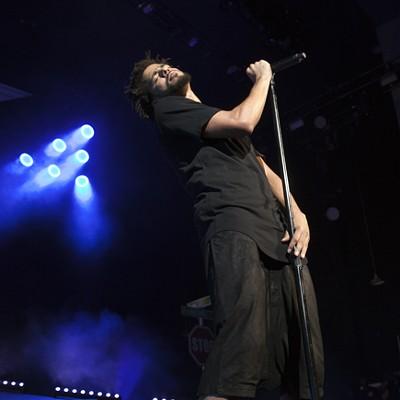 J Cole @ PNC Music Pavilion 8/12/2015