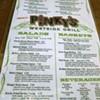 Pinky's, 11/10/11