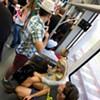 No Pants Light Rail Ride