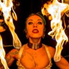 Collette Ellis Bends Flames, Dances in the Sky and Swims Like a Fish