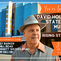 EMERGING MUSICAL ARTISTS PERFORMING AT DAVID HOLT'S STATE OF MUSIC PRESENTS RISING STARS ON OCT. 25 AT THE REEVES THEATER
