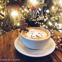 Spend the Holidays with The Artisan's Palate - Holiday Coffee Drinks + New Year's Eve Celebration