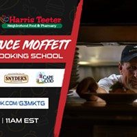 Charlotte Chef Bruce Moffett Virtual Cooking School