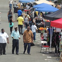 Local entrepreneurs set up shop at Eastland Mall's gravesite